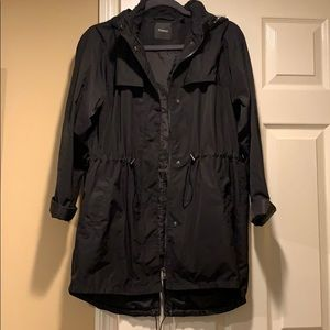 Theory Packable raincoat